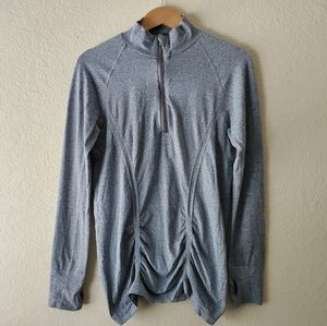 Athleta Gray Active Wear Jacket